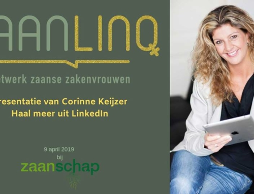 Bijeenkomst en presentatie: Haal meer uit LinkedIn – 9 april
